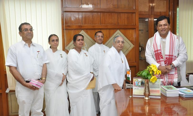 Hon'ble Chief Minister of Assam, Sri Sarbananda Sonowal in Guwahati